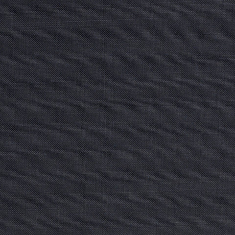 Midnight Navy Plain Topaz Suiting Cashlux 150