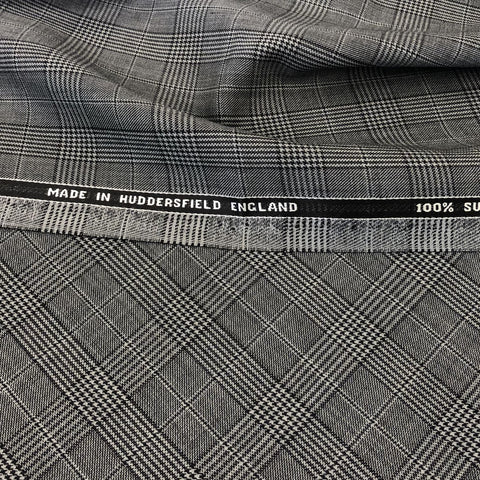 Grey & Black Glen Plaid Check Quartz Vol 2. VV Finish