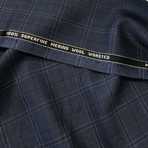 Navy With Blue/Black Check Quartz Vol 2. VV Finish