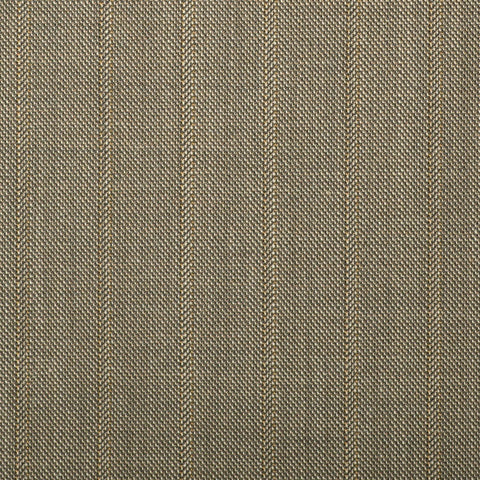 Fawn Pick And Pick With Gold Stripe Quartz Super 100's Suiting
