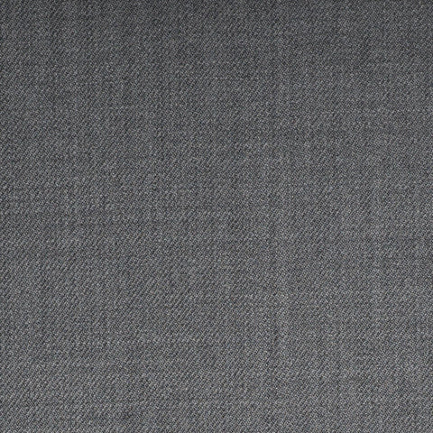 Medium Grey Plain Twill Onyx Super 100's Luxury Jacketing And Suiting's