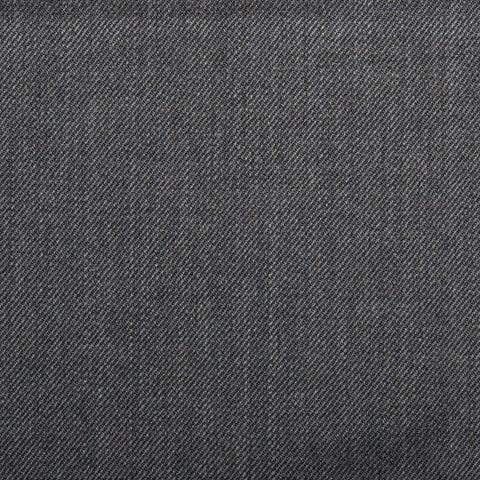Dark Grey Plain Twill Onyx Super 100's Luxury Jacketing And Suiting's