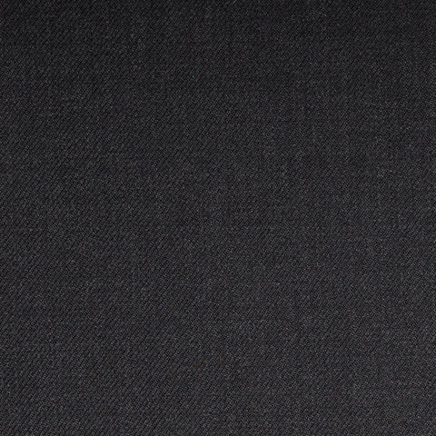 Charcoal Grey Plain Twill Onyx Super 100's Luxury Jacketing And Suiting's