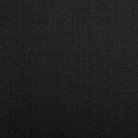 Black Plain Twill Onyx Super 100's Luxury Jacketing And Suiting's