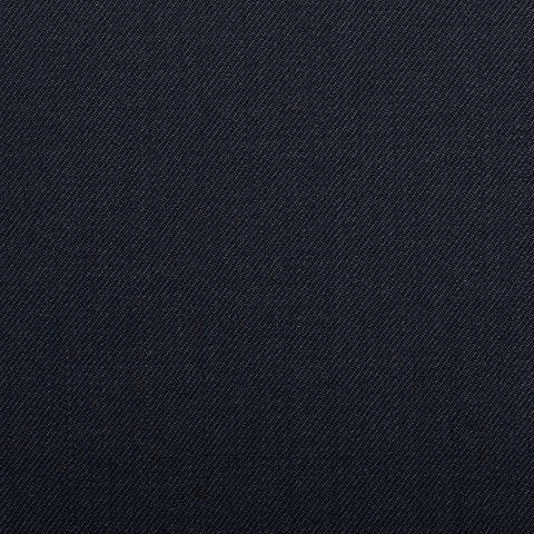 Midnight Navy Plain Twill Onyx Super 100's Luxury Jacketing And Suiting's