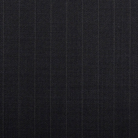 Navy Pinstripe Quartz Super 100's Suiting