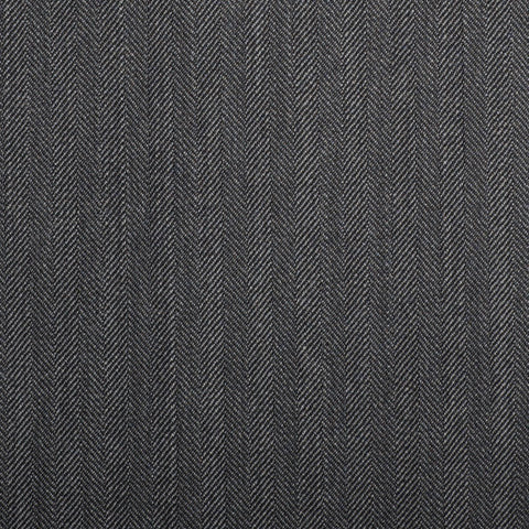 Medium Grey Herringbone Quartz Super 100's Suiting