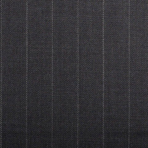 Grey Chalkstripe Quartz Super 100's Suiting