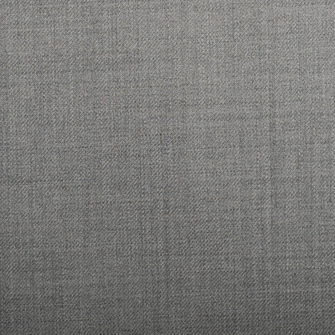 Light Grey Plain Twill Crystal Super 130's Suiting