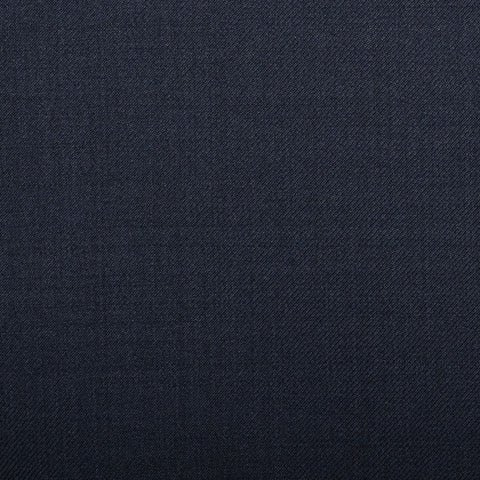 Navy Plain Twill Crystal Super 130's Suiting