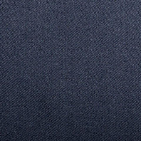 Dark Blue Plain Twill Crystal Super 130's Suiting