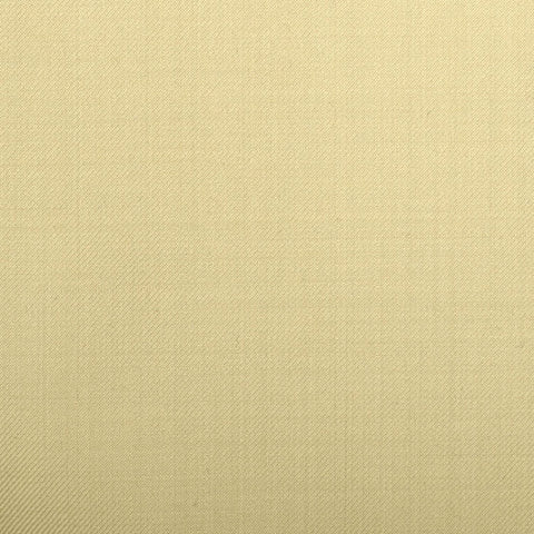 Cream Plain Twill Crystal Super 130's Suiting