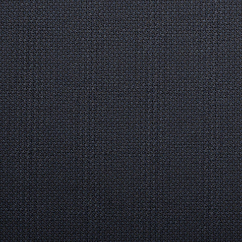 Dark Navy And Black Birdseye Crystal Super 130's Suiting