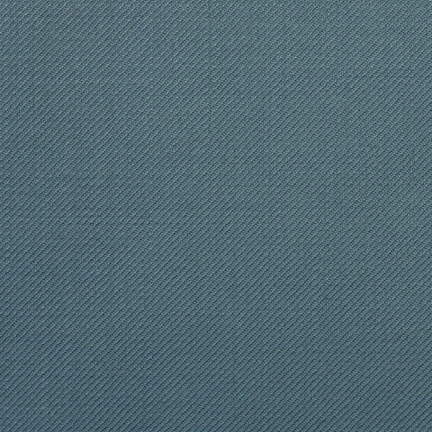 Medium Blue Plain Twill Onyx Super 100's Luxury Jacketing And Suiting's