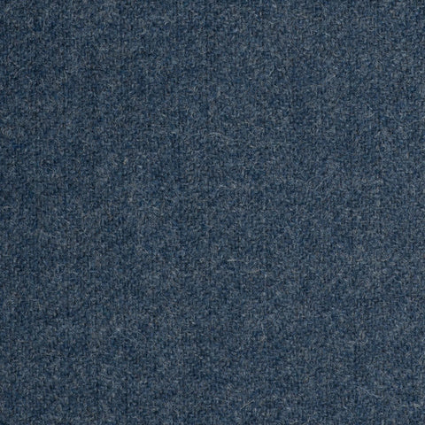 Blue Subdued Herringbone Coral Tweed All Wool