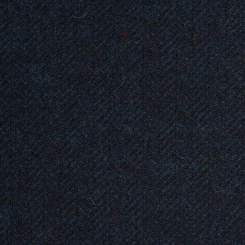 Dark Navy Subdued Herringbone Coral Tweed All Wool