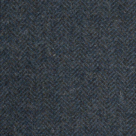 Grey/Green Subdued Herringbone Coral Tweed All Wool