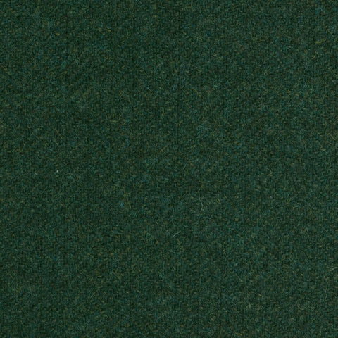 Dark Green Subdued Herringbone Coral Tweed All Wool