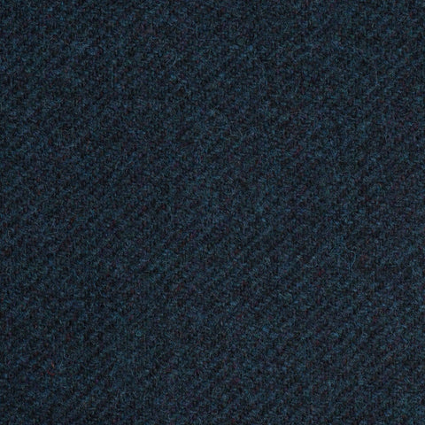 Dark Sea Blue/Green Twill Coral Tweed All Wool