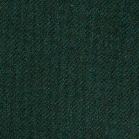 Dark Green Twill Coral Tweed All Wool