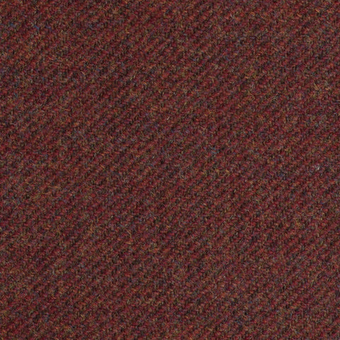 Rust Twill Coral Tweed All Wool