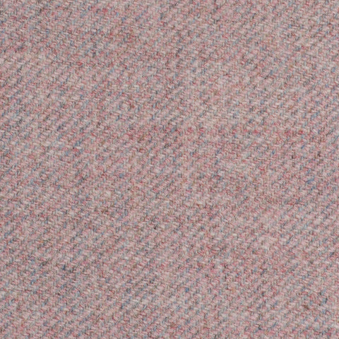Baby Pink Twill Coral Tweed All Wool