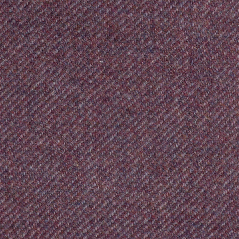 Dark Pink Twill Coral Tweed All Wool
