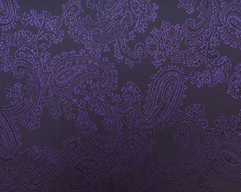 Purple Paisley Lining 50% Viscose 50% Acetate