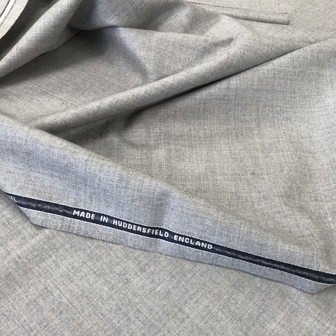 Light Grey Plain Flannel Suiting Jacketing
