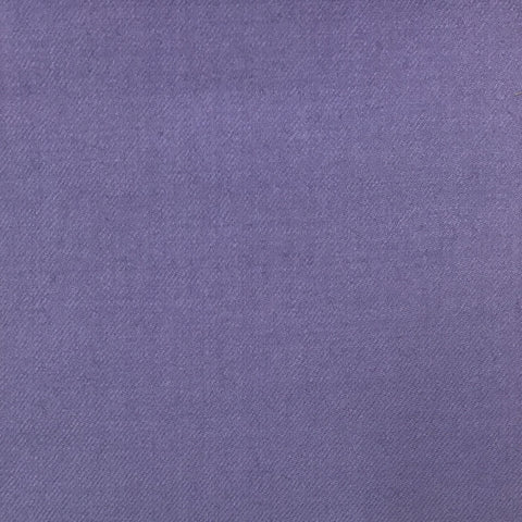 Purple Plain Twill Flannel Suiting