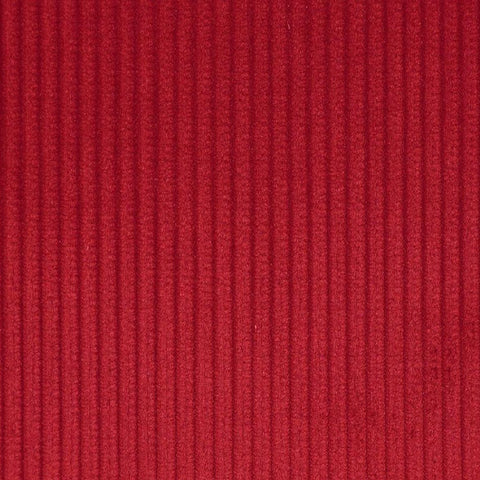 Rose Red 8 Wale Corduroy 100% Cotton