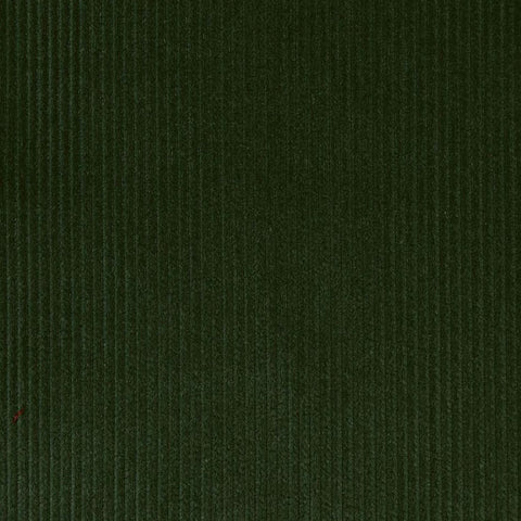 Moss Green 12 Wale Corduroy 100% Cotton