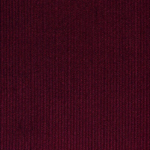 Dark Wine 12 Wale Corduroy 100% Cotton
