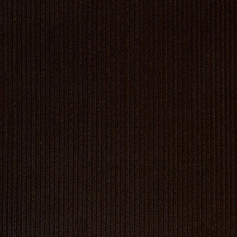 Dark Brown 12 Wale Corduroy 100% Cotton