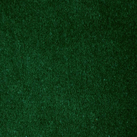 Dark Green Velvet 100% Cotton