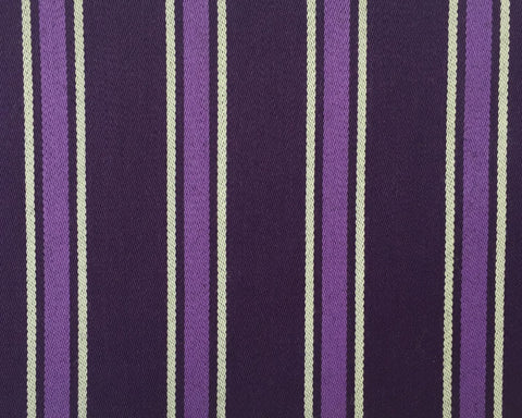 Purple, Lilac And White Blazer/Boating Stripe 1 3/4'' Repeat Jacketing