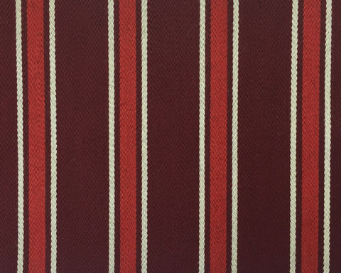 Maroon, Red And White Blazer/Boating Stripe 1 3/4'' Repeat Jacketing