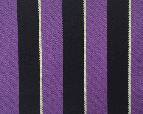 Purple, White And Black Blazer/Boating Stripe 2 1/4'' Repeat Jacketing
