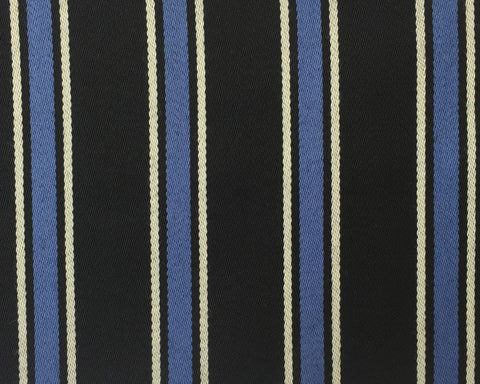 Blue, Black And White Blazer/Boating Stripe 1 3/4'' Repeat Jacketing