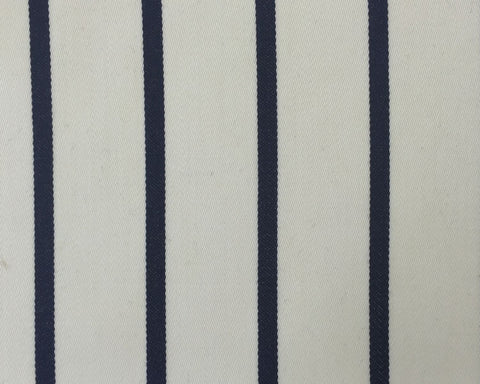 Cream And Navy Blazer/Boating Stripe 1 1/2'' Repeat Jacketing