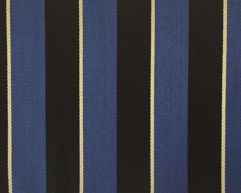 Blue, Black And White Blazer/Boating Stripe 2 1/4'' Repeat Jacketing