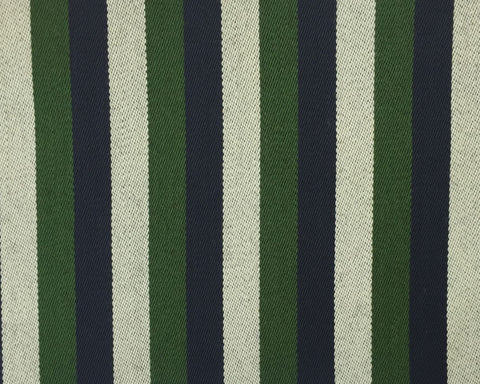 Green, Navy And White Blazer/Boating Stripe 1 1/4'' Repeat Jacketing