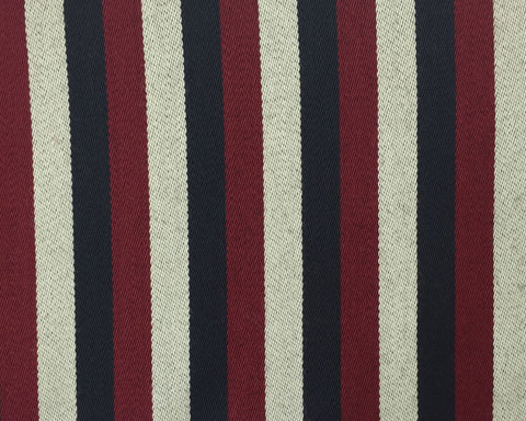 Red, White And Midnight Navy Blazer/Boating Stripe 1 1/4'' Repeat Jacketing