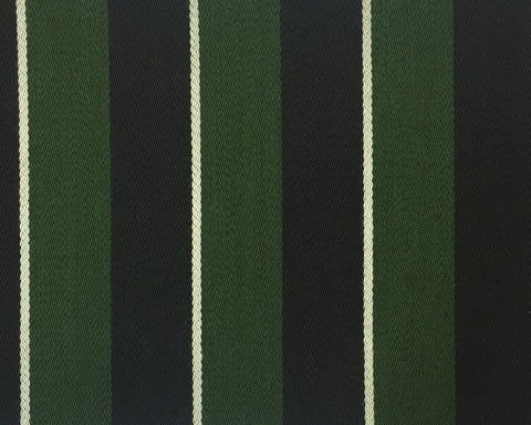 Green, Black And White Blazer/Boating Stripe 2 1/4'' Repeat Jacketing