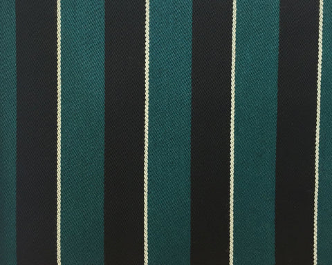 Bright Green, Black And White Blazer/Boating Stripe 1 1/2'' Repeat Jacketing