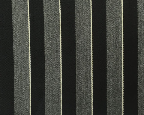 Grey, Black And White Blazer/Boating Stripe 1 1/2'' Repeat Jacketing