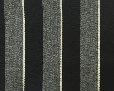 Grey, Black And White Blazer/Boating Stripe 2 1/4'' Repeat Jacketing