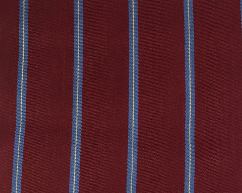 Blue, Gold And Maroon Blazer/Boating Stripe 1 1/2'' Repeat Jacketing