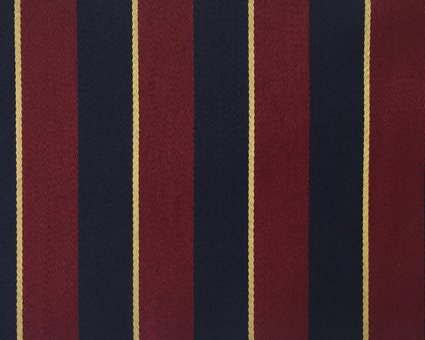 Red, Navy And Gold Blazer/Boating Stripe 2 1/4'' Repeat Jacketing