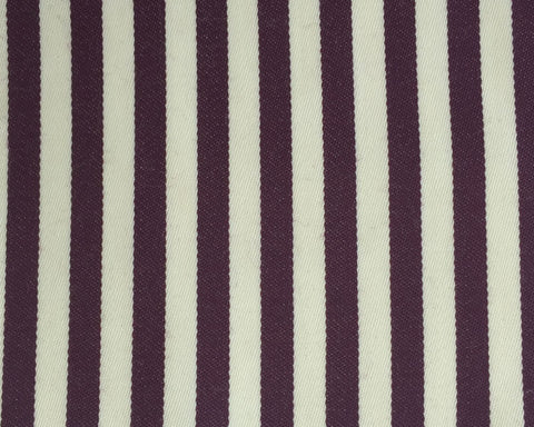Cream And Wine Blazer/Boating Stripe 3/4'' Repeat Jacketing